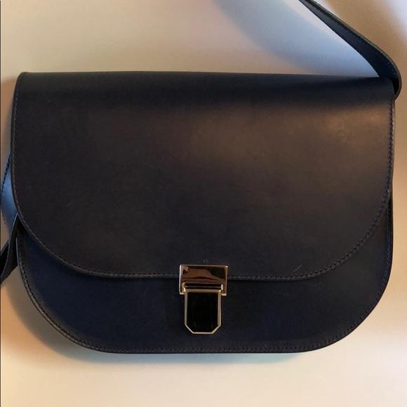 b806023aec APC Handbags - Navy APC Vienne Saddle cross body bag